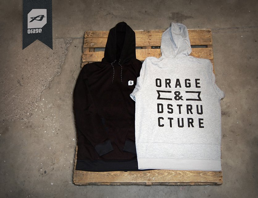 The Orage x D-Structure Hoodie