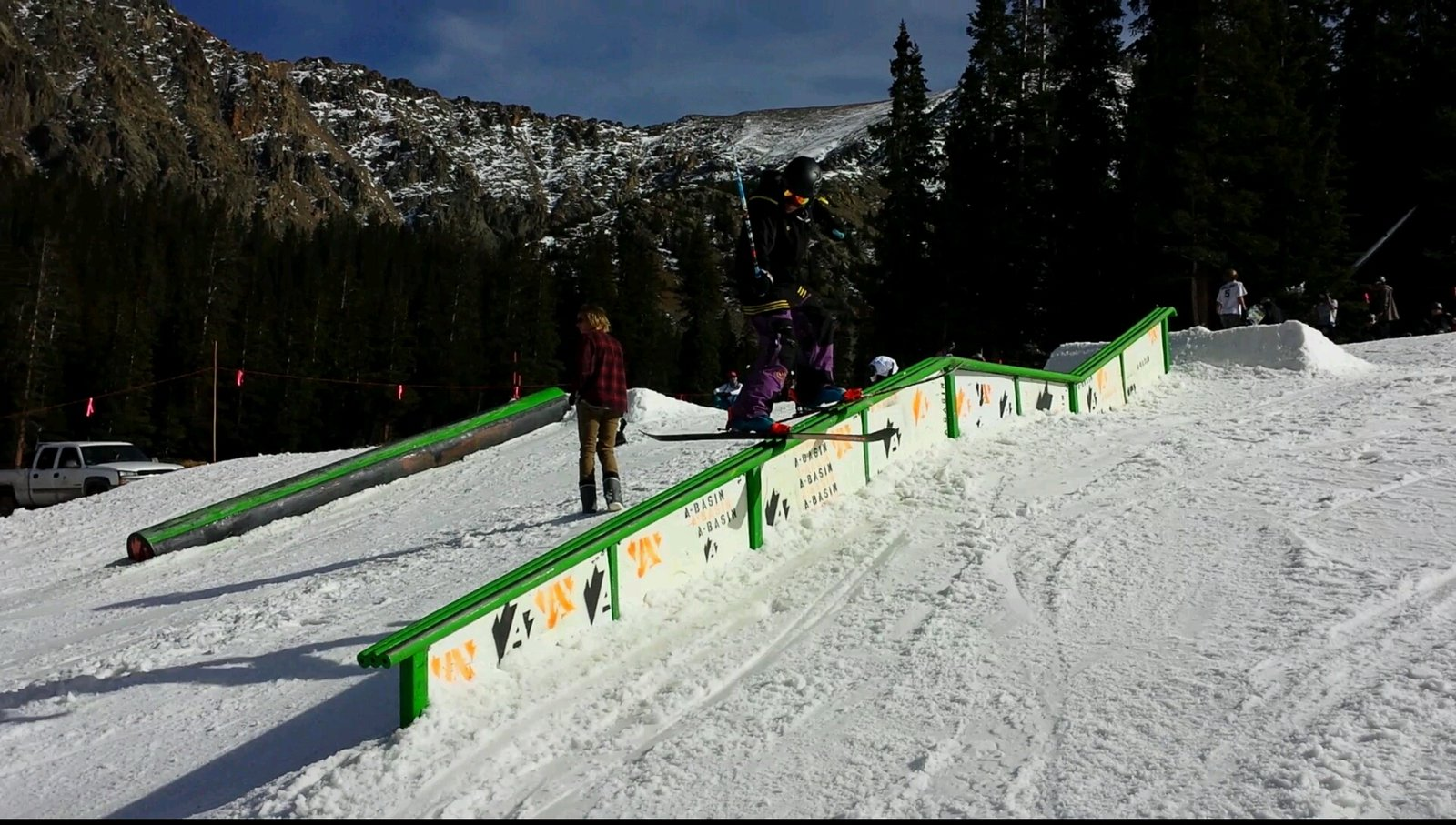 A-Basin Opening Day 2014