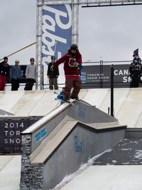 Toronto Snow Show Pro Rail Jam