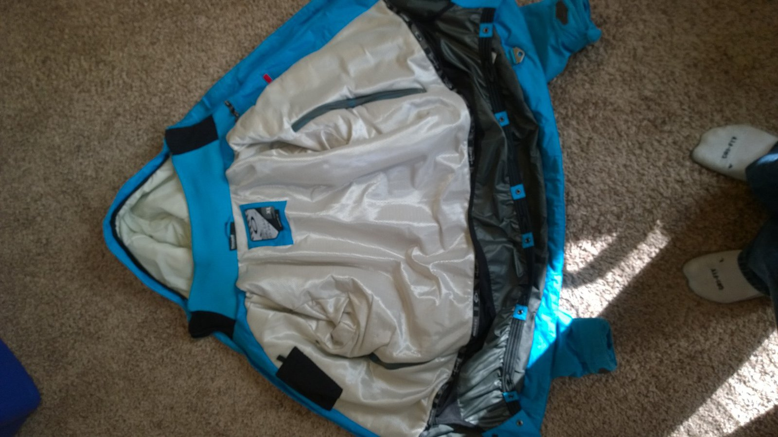 Oakley Jacket- Inside