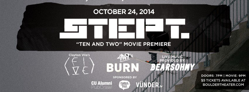 STEPT Boulder Theater Premiere