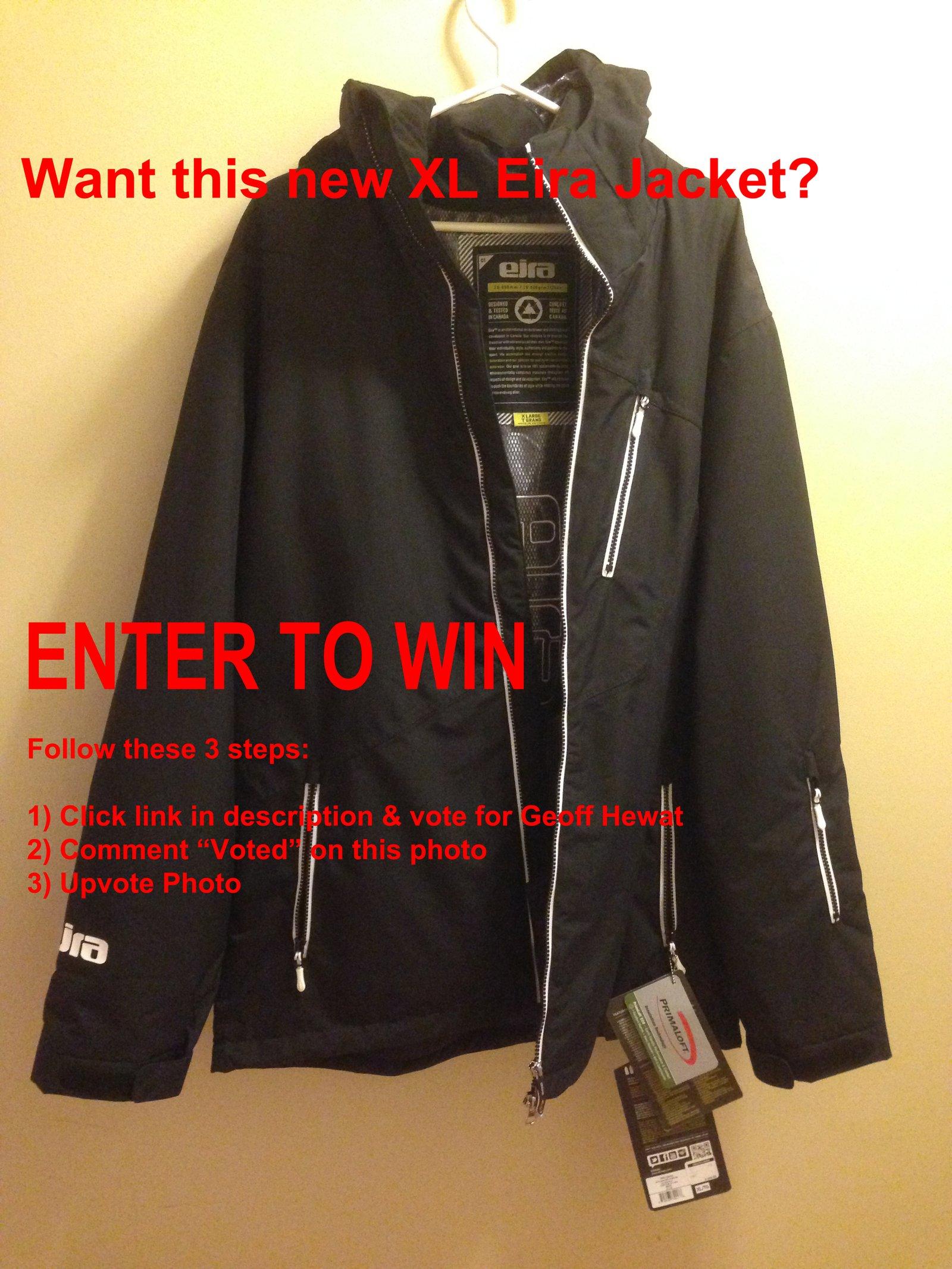 CONTEST: Win Black XL Eira Jacket
