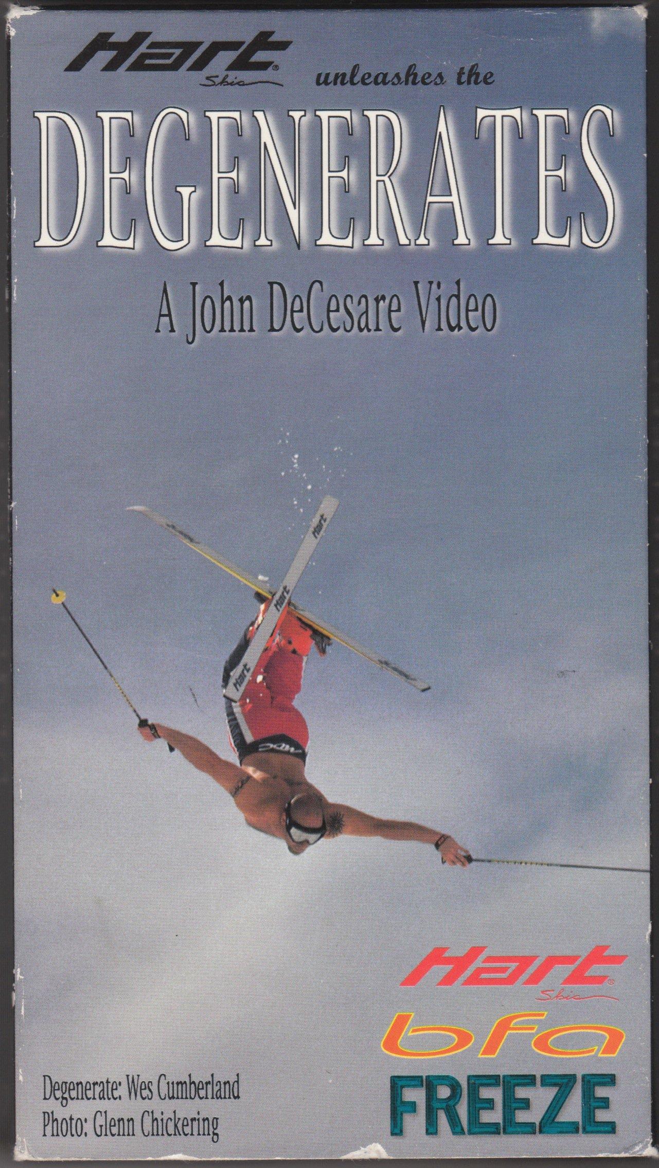 Degenerates (1998) box cover