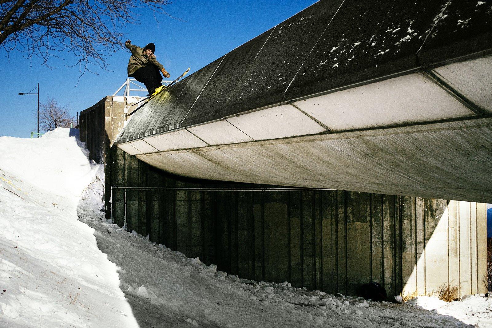 """Phil Casabon in """"Keynote Skier"""""""