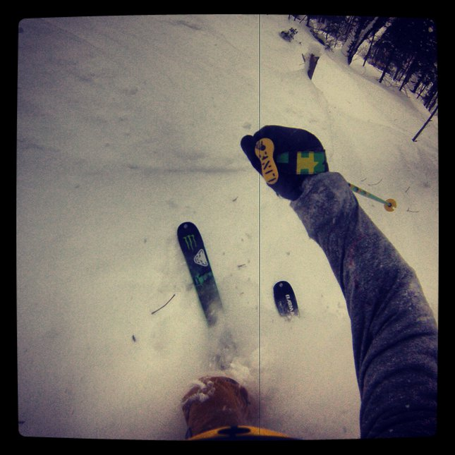 Powder in quebec city