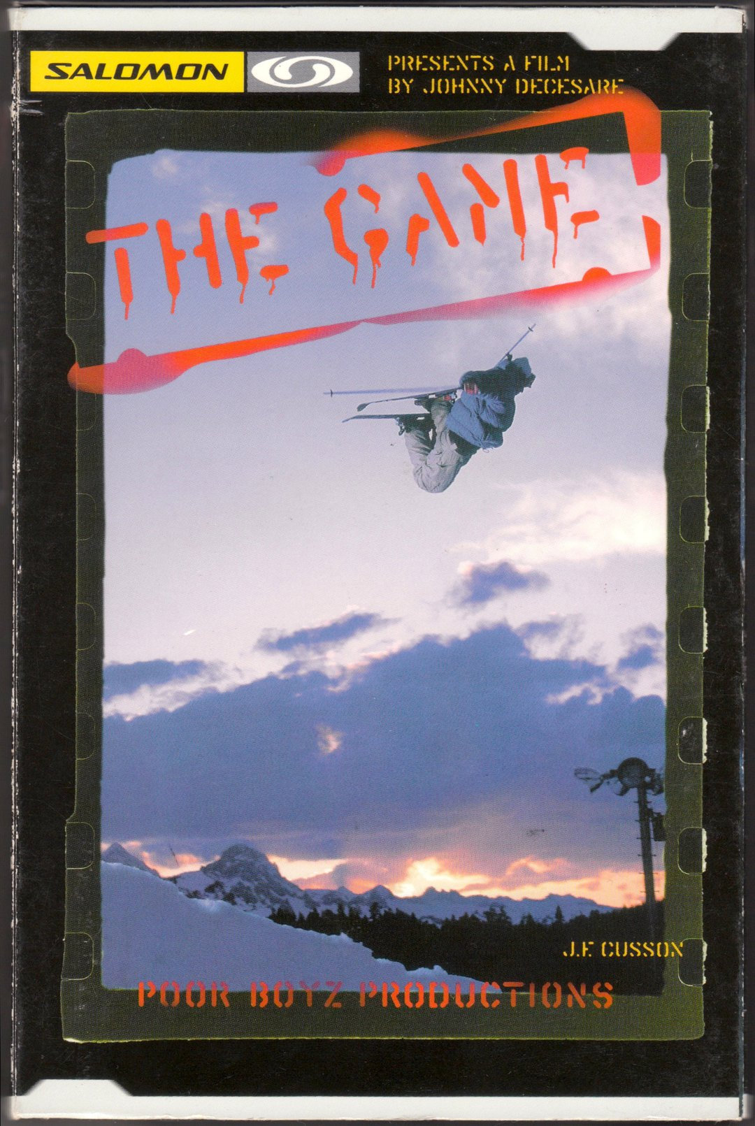 The Game box cover