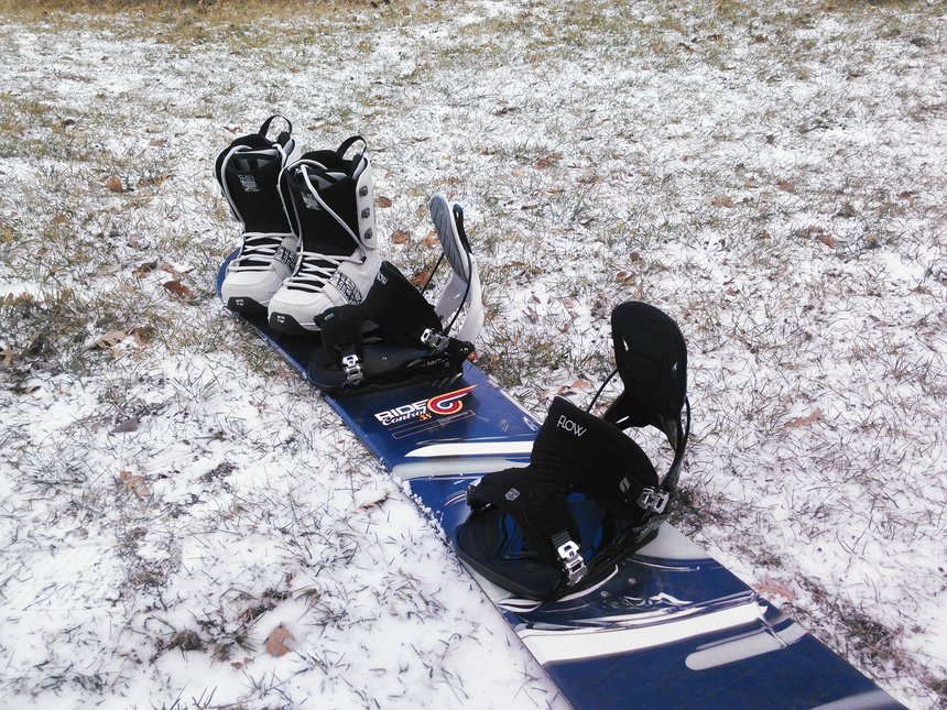 I love the ski swap