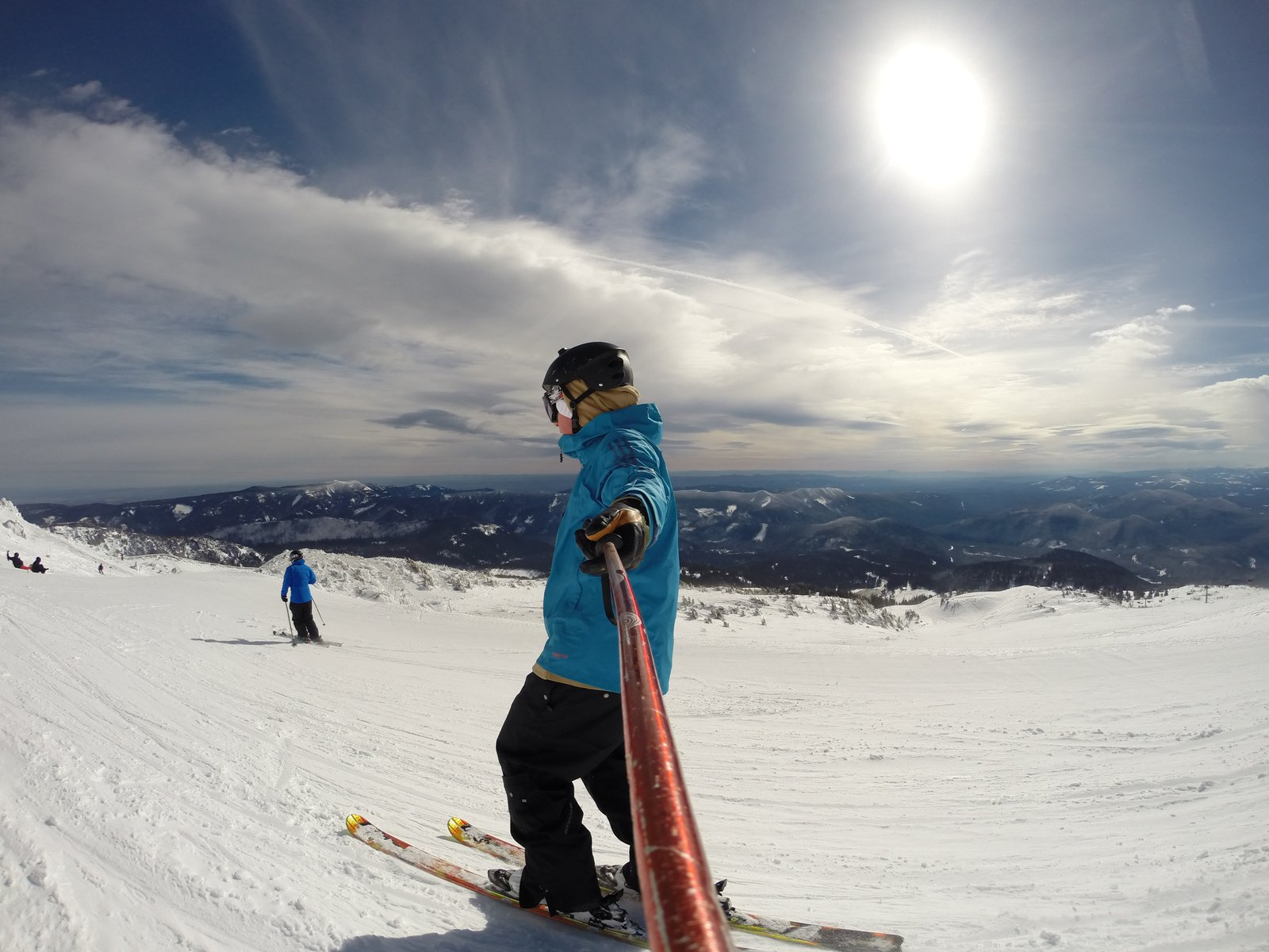 Beautiful Ski Day