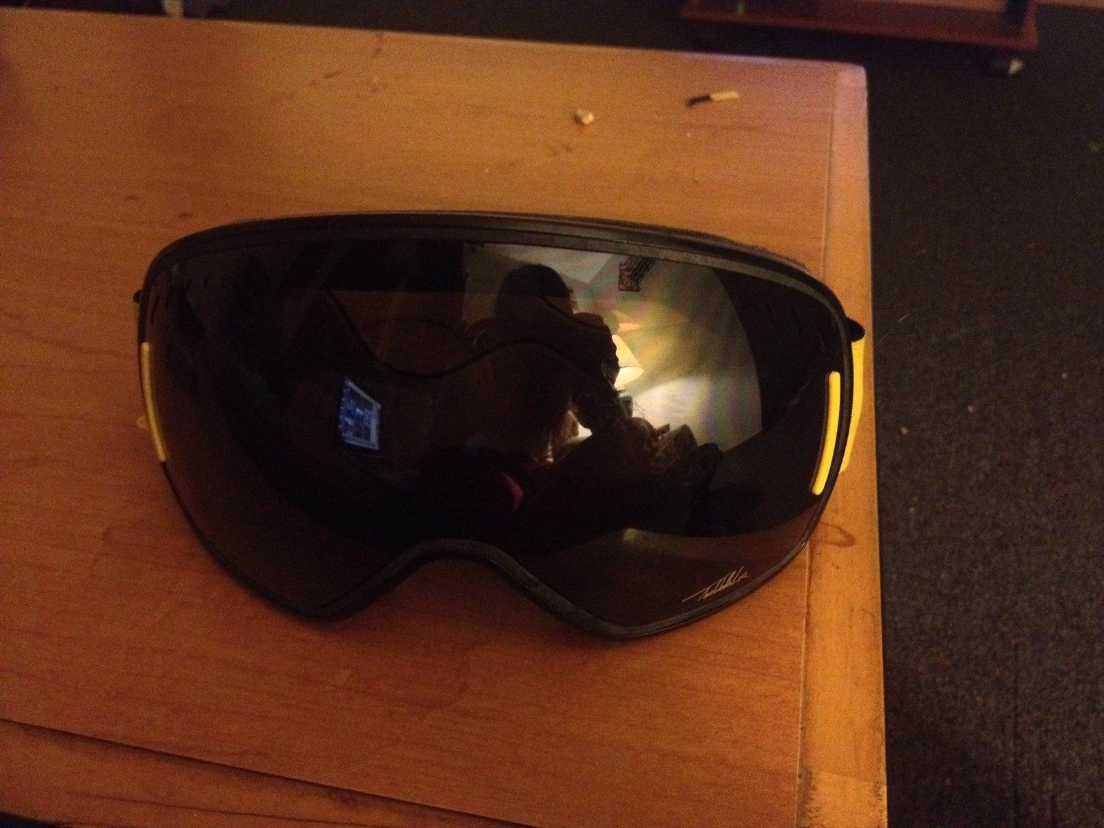 Scott Tom Wallisch Pro Goggles for sale