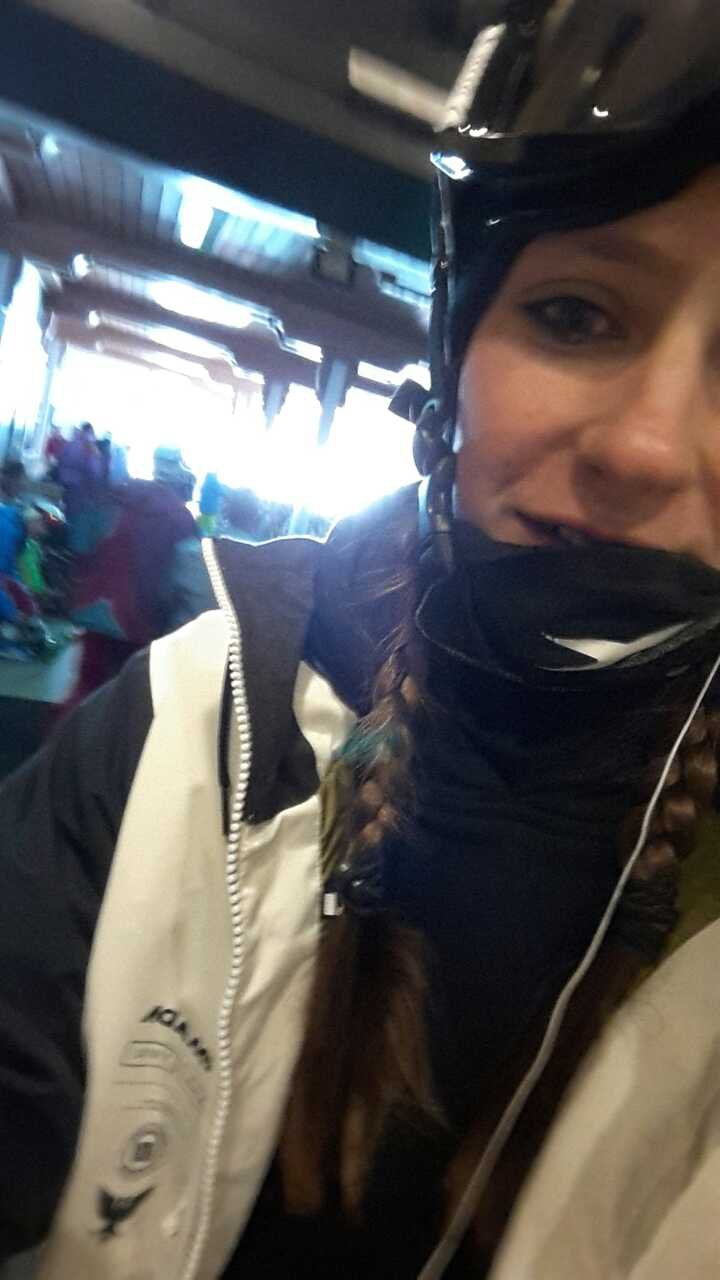 Selfie from the mountain
