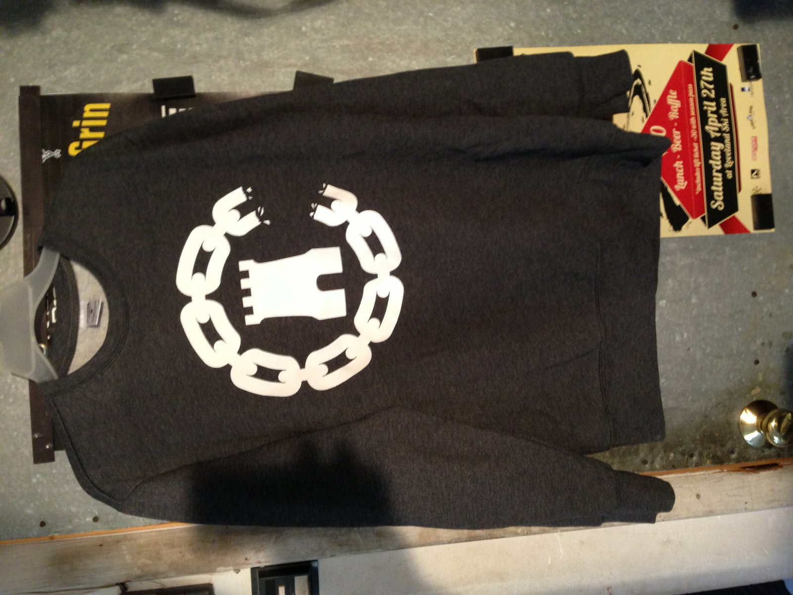 large crooks and castles sweatshirt