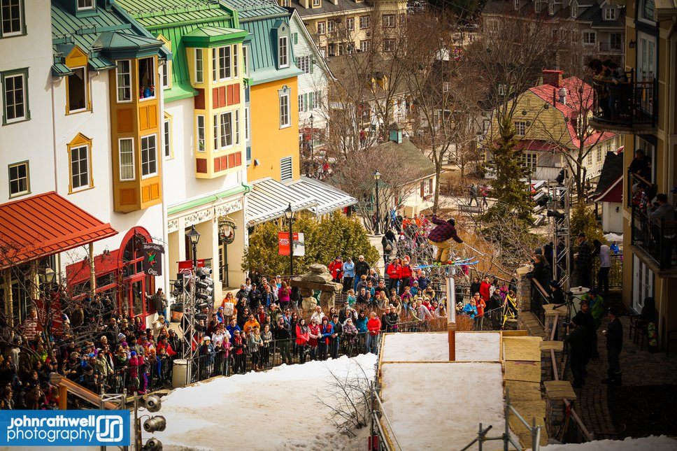 Red Bull Foret Urbaine at Tremblant