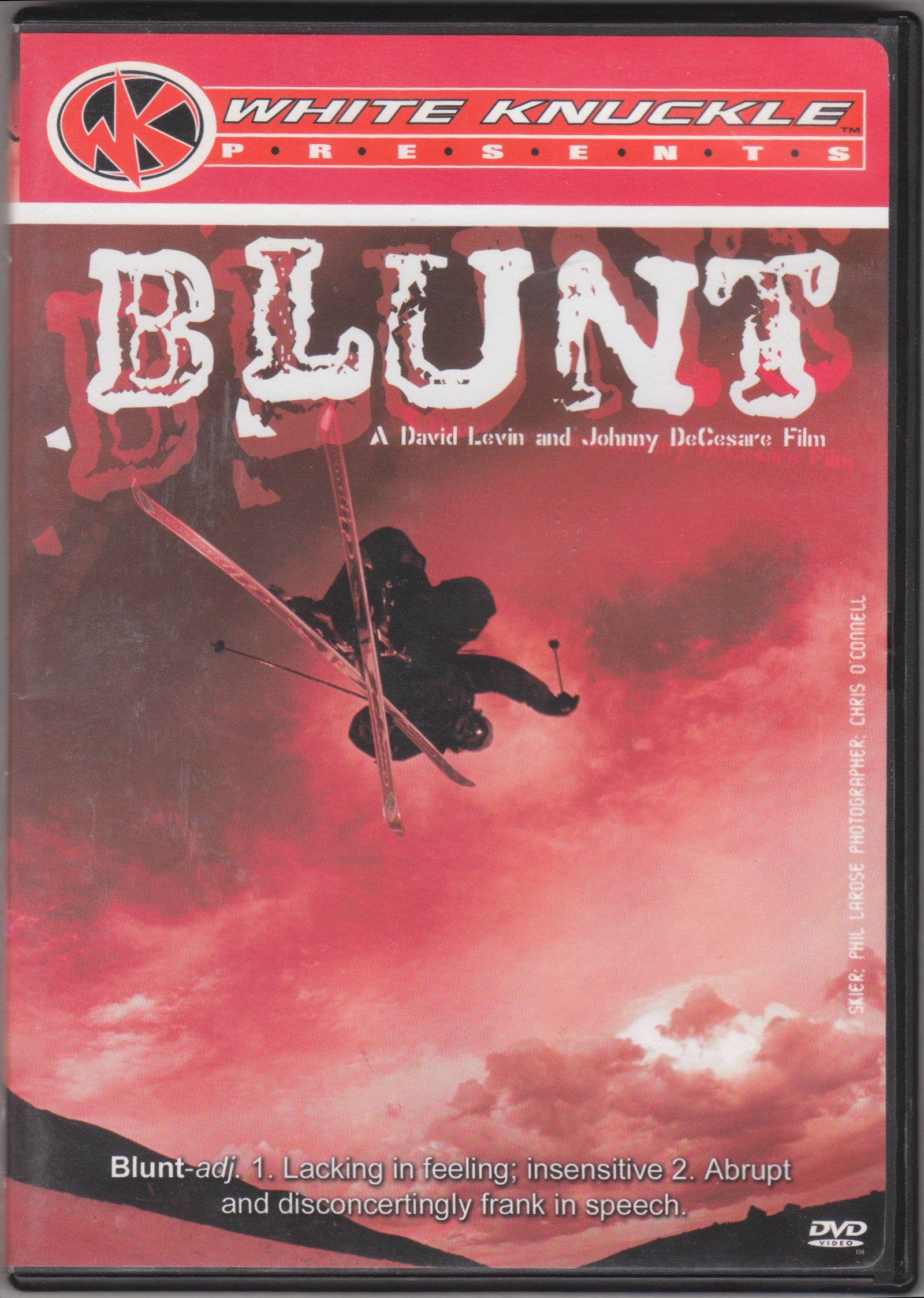 Blunt (2002) box cover