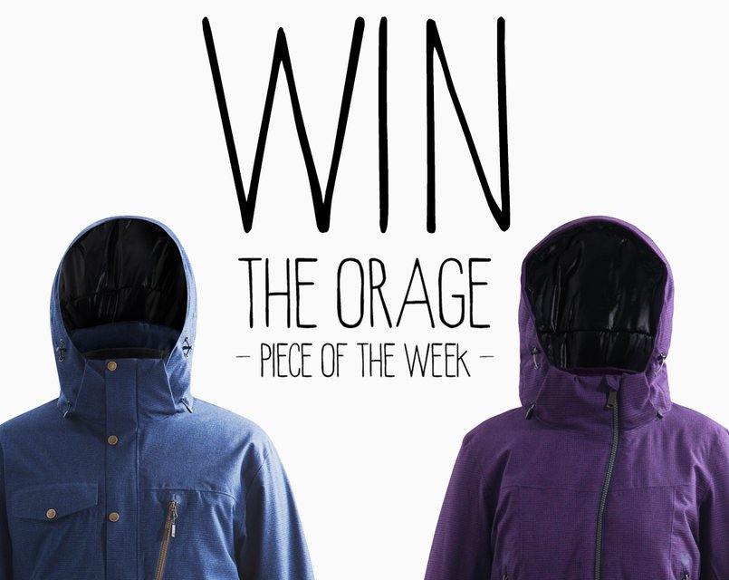 The Orage Piece of the Week