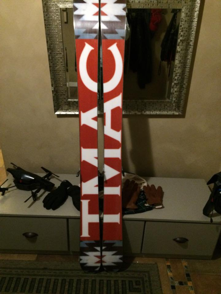 Home Made Skis Bottom