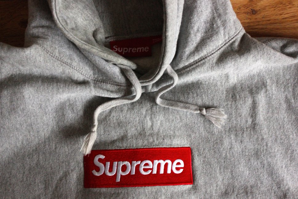 Supreme Box Logo 2013 Close Up