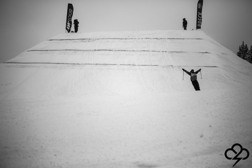Gus Kenworthy at the Dew Tour