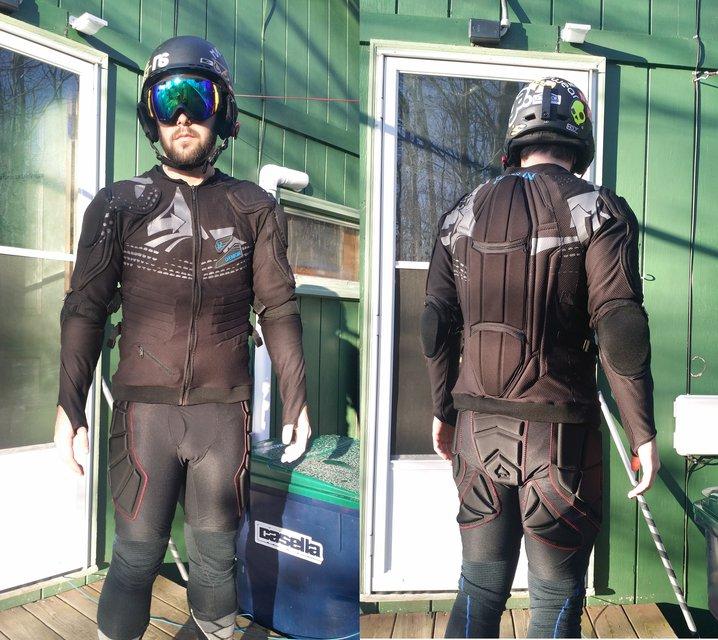 Terrain Park Armor: Your personal bodyguard.