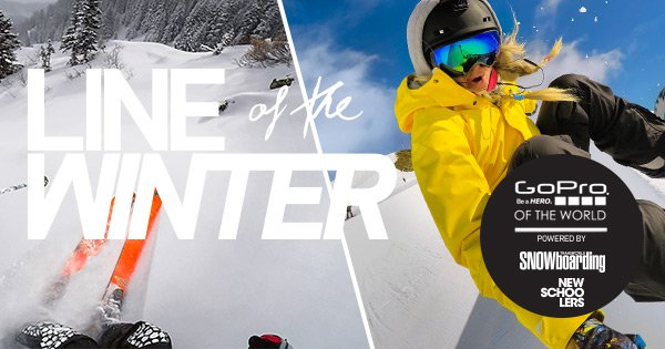 Win $20,000 in GoPro's Line of the Winter