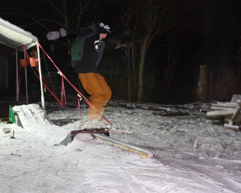 Night rail session