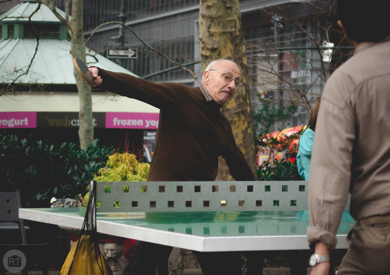 Ping Pong Man