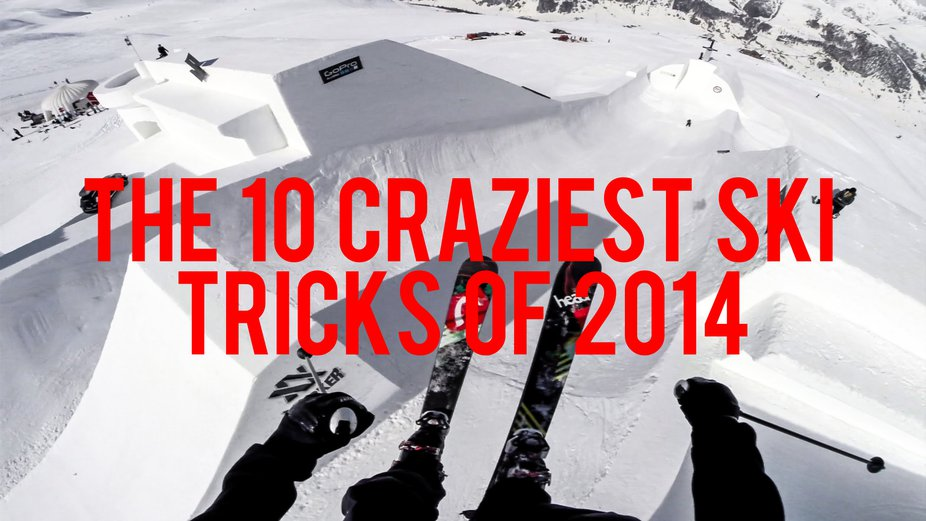 Watch: The Ten Craziest Ski Tricks of 2014