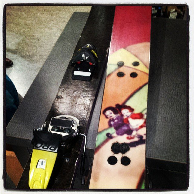 never rip your bindings out