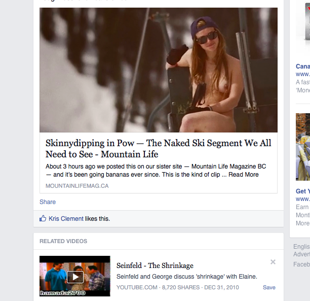 Well done, FB related videos