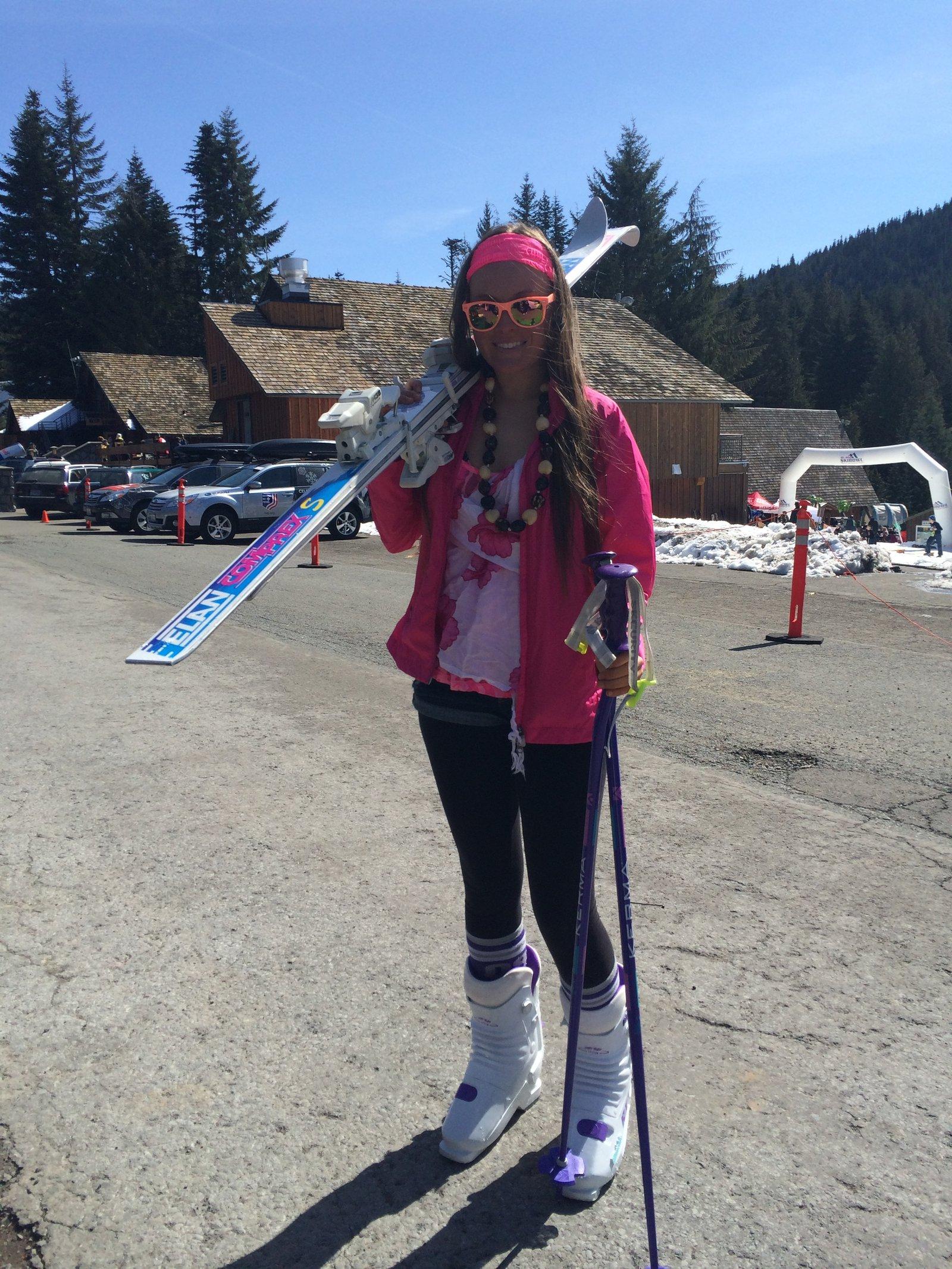 Gaper Day at Ski Bowl 2014