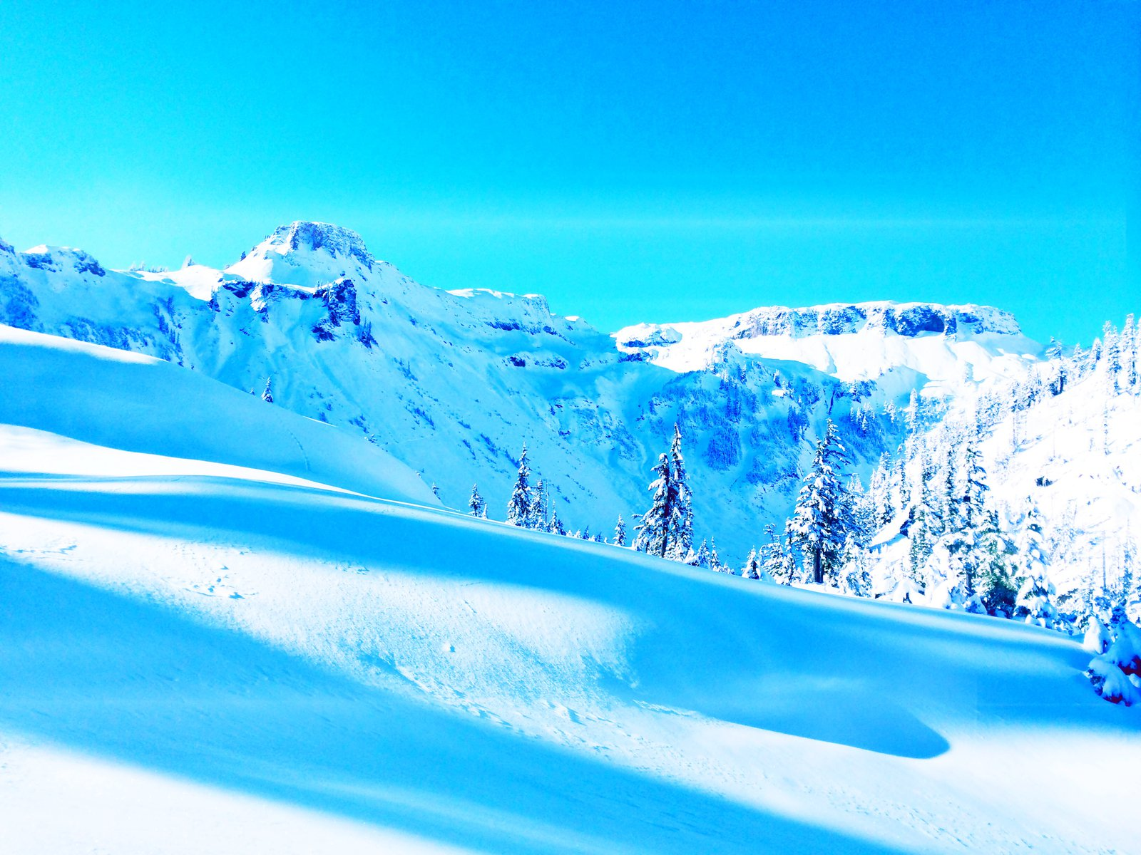 Those Days at Mt Baker that Blow Your Mind! 2014
