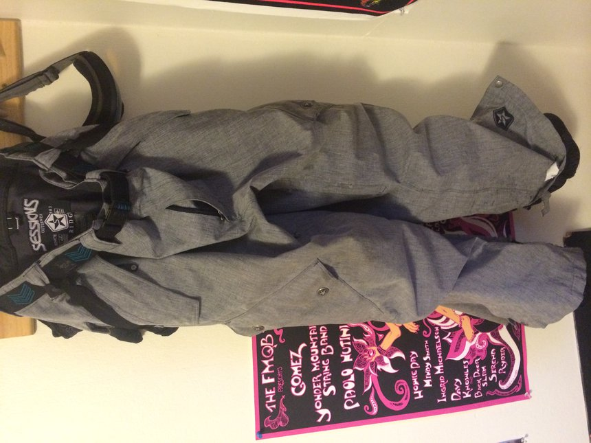 2011/2012 Session Pants Grey