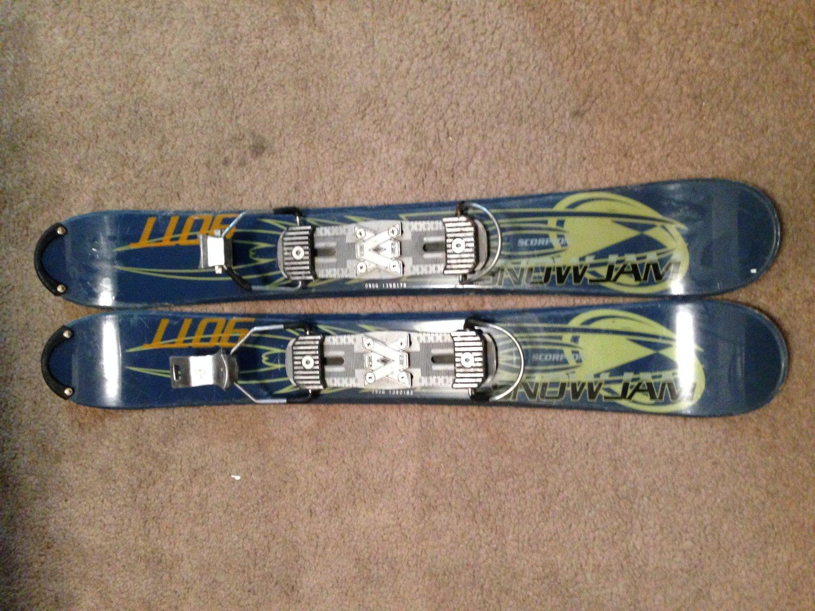 Skiboard/Snowblades for sale