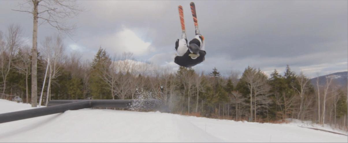 Flip over rail