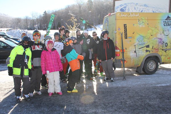 Newschoolers Tell a Friend Tour: Canaan Valley, WV