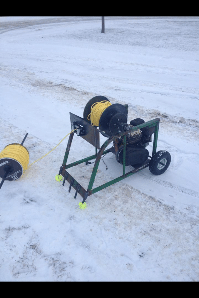 homemade winch