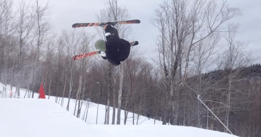 Tricks on snow