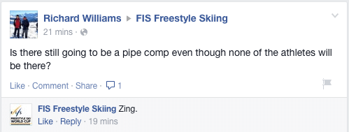 "FIS Freestyle - ""ZING!"""