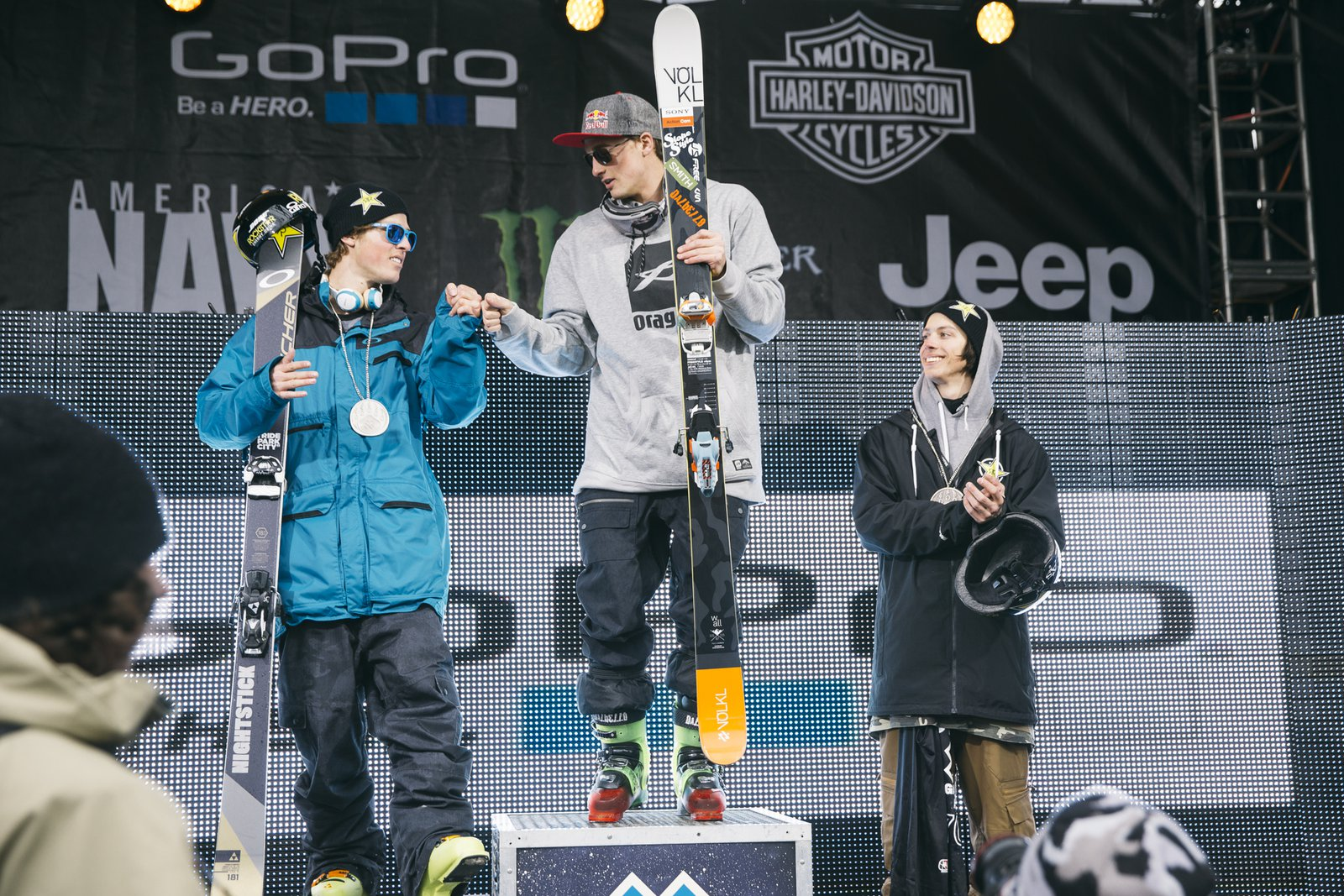 Goepper's 3rd X medal in a row