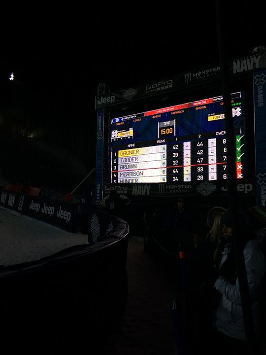 Men's Big Air Finalist
