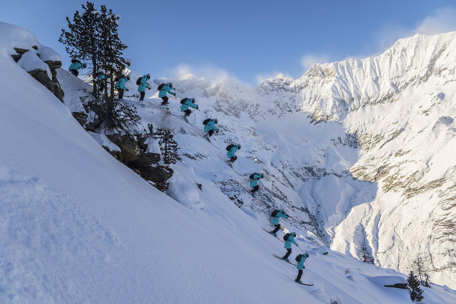 Cliffdrop in Italy