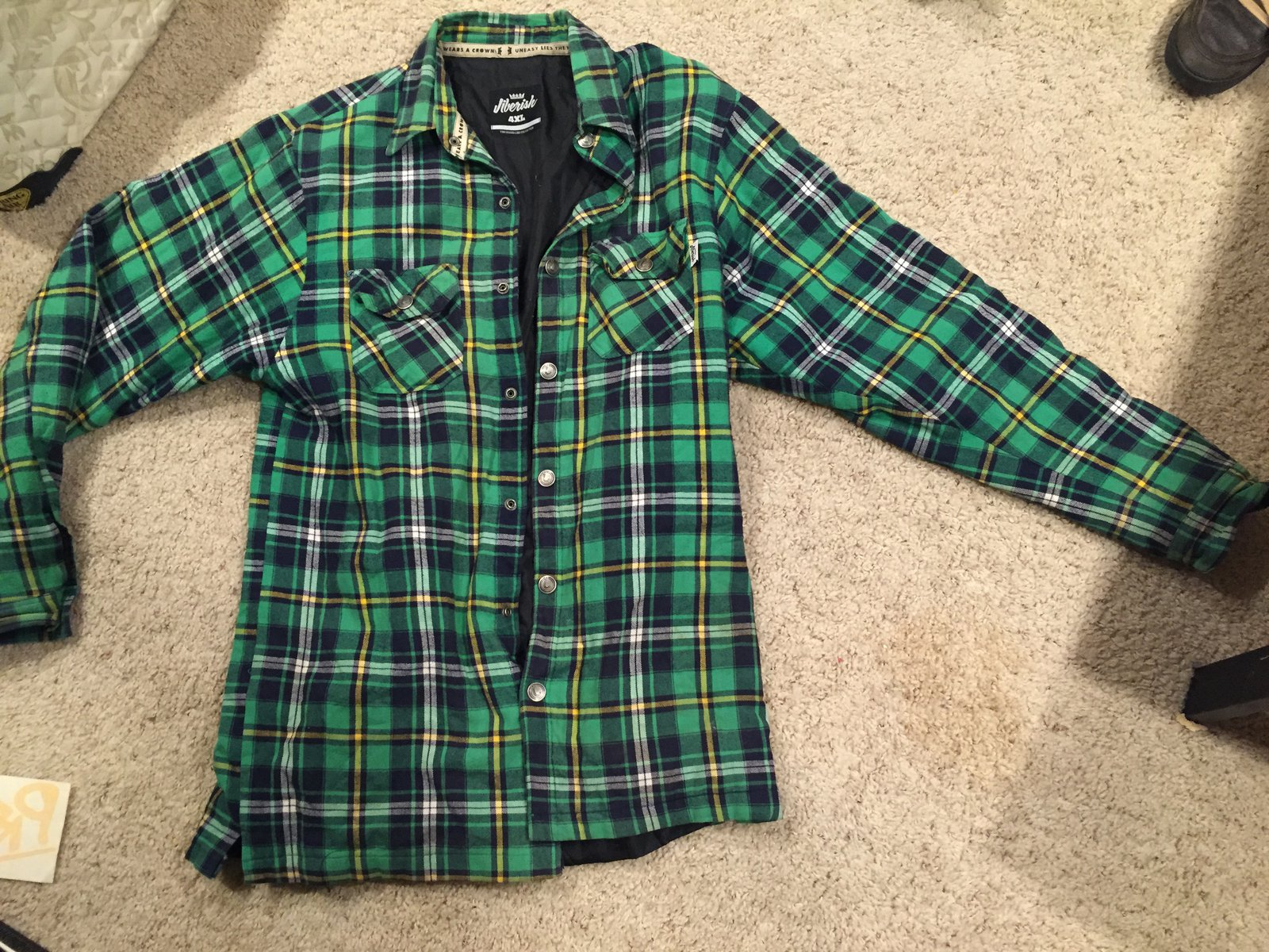 Jiberish 4XL Flannel