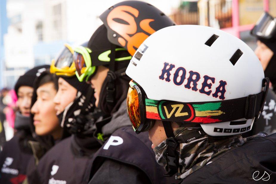 Teaching Freeskiing in Korea