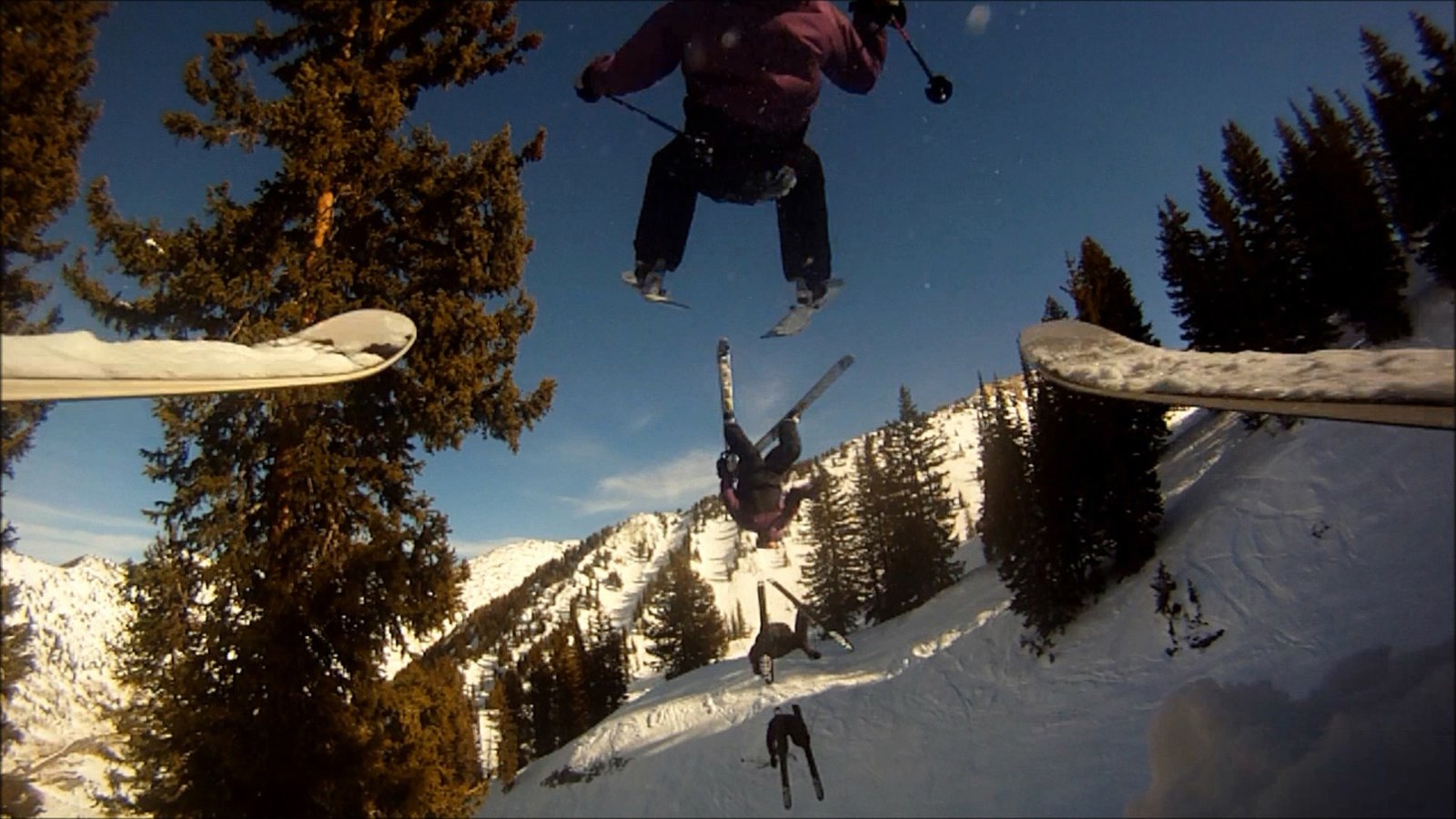 Backflip sequence
