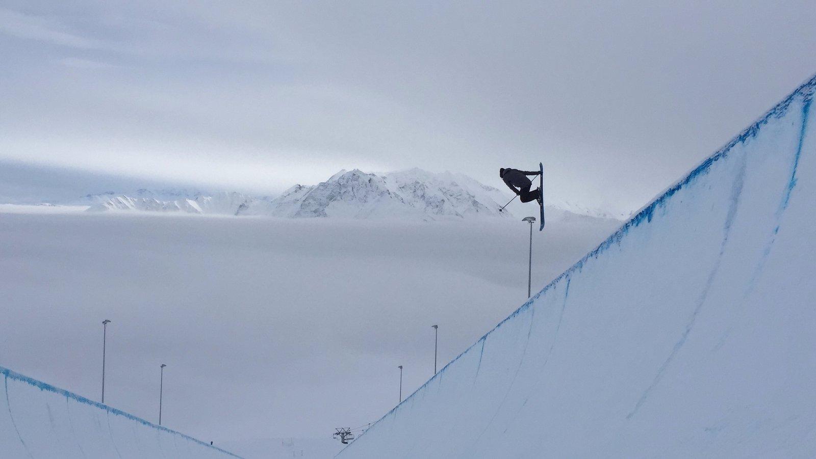 Cloud in laax
