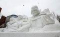 Exploring Sapporo's Giant Snow Sculpture Festival