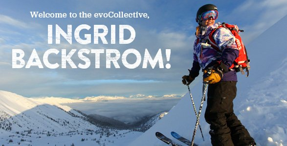 Welcome to the evo collective Ingrid Backstrom!