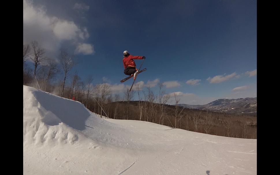Chris Mac Skiing