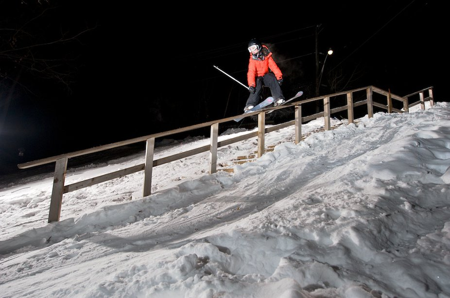 Kim Lamarre signs with Line Skis