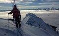 Mixed climbing and powder surprises: Rumble Ridge