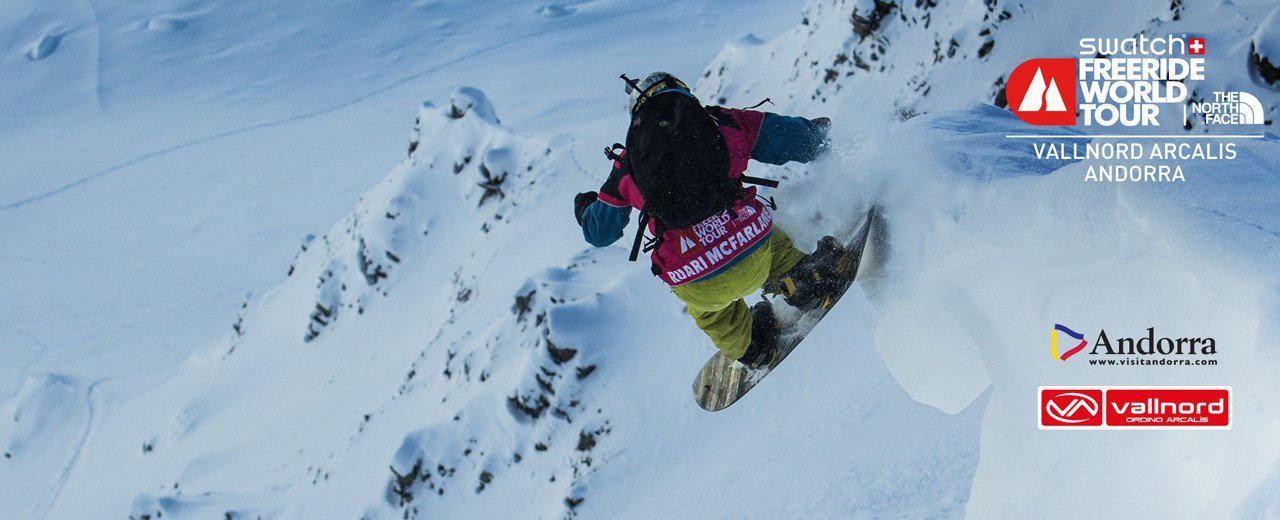 Freeride World Tour - Andorra Vallnord Arcalis 2/13/15